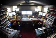 Recording studios - home and professional / by Jeff Parker