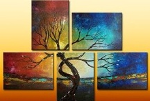 Tree Painting Ideas / by Shannon Charles