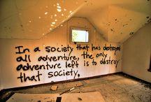 Creepy, odd, scary, anti-social / by Josh Damon Williams