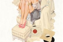Pin up girls  / by T Lee