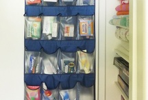 Organisation and storage ideas / by Evelyn