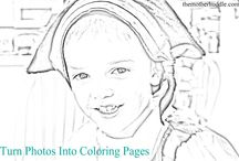 Colouring Pages / by Kristi Wolfe Murie