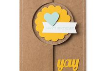 Card Thinlits Dies / by Stampin' Up!