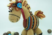 Knitted and Crocheted Toys  / by Veronica Smith