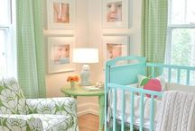 Nursery/Kids Rooms / by Kriste Hotop Young