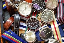 Watches / Love watches!  Men's, Women's, it doesn't matter.  I own about 40 now.  My dream is to own a Rolex someday. / by Robin Barton