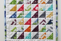 Mini Quilts - Tutorials & Inspiration / A collection of Mini Quilt ideas and tutorials from around the web. / by The Crafty Mummy