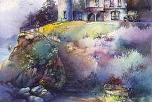 Watercolor Houses  / by Sammie Justesen