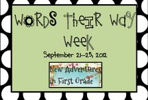 Words their way / by Tairaca White