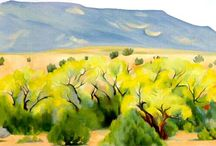 O'Keeffe / by Kim Garcia