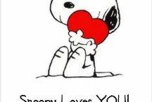 Snoopy / by Con el Corazón Entre Luz y Tinieblas