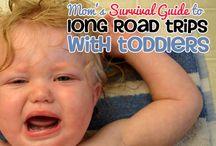 Road trip with kiddos / by Angelina Morgan