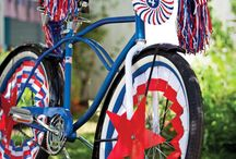 Red, White & Blue / by Melissa Sills (Suburban Chic)
