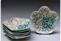 Dishes, Bowls, Teapots, oh my! / by Mary Lou Case