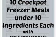 Crockpot Freezer Meals / by Cami