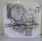 3D schilderijen / 3D abstracte handgeschilderde schilderijen op canvas. / by TRENDY MUURDECORATIE
