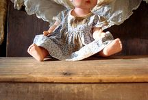 Sweet vintage dolls / by Carol Mitchell