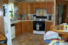 Kitchen redo / by Cynthia Johnston