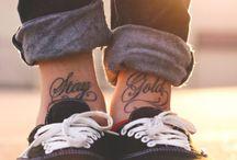 Tattoos / by Katie Hostetler