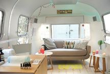 Mobile Modern / Renovated retro trailers for glamping / by Joshua Field