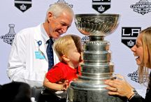 LA Kings & Stanley Cup Visit 2014 / @LAKings brought their most prized possession, the #StanleyCup, to CHLA patients and families  / by Children's Hospital Los Angeles