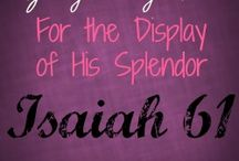 Display His Splendor Blog / All articles, reviews, and thoughts from my website - For the Display of His Splendor - holysplendor.com / by DaLynn McCoy