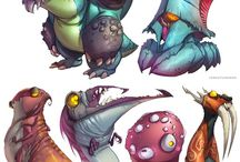 Weird Creatures / by Caley Malady