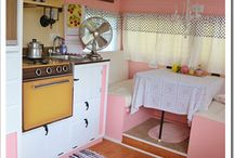 Glamping Vintage Trailers / by Trisha Hall