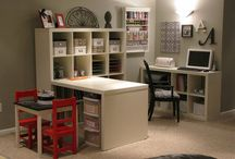 Scrapbooking Rooms / Scrapbooking & Craft Rooms I Like / by G Girardier