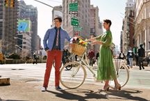 NYC spring fashion / After a long, cold winter filled with wooly knits, parkas and layers galore, spring has finally sprung, bringing with it the promise of sunny skies, carefree days and — of course — breezy, colorful fashions to keep New Yorkers looking stylish all season long. / by amNewYork