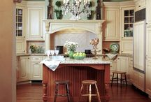 Kitchen Inspiration / My dreams for the someday-kitchen. / by Rebecca Grabill