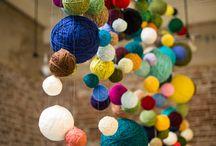 De la couleur dans la maison / De chouettes idées pour ajouter rapidement plein de couleurs dans la maison. / by Laura David