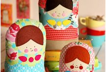 Russian Dolls / Quirky and stack-able Russian Dolls  / by Hillary Jeanne