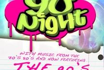 Boogie Nights!  / Boogie Nights, Fun, 70's music, 80's music, 90's music, dance club, night club, party, characters, retro, late night / by Tropicana Atlantic City