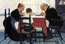 Norman Rockwell / the simplicity of life... / by Terry Fourtner
