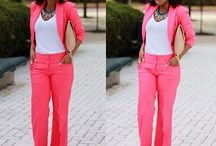 Work outfit ideas / by Demetria Ivory