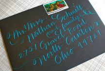 Calligraphy & Typography / by Dinah