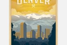 Colorado and Denver artwork / by StapletonDenver