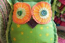 Fabric art / by Sylvia Shores