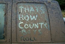 country must be country wide. / by Ashley Wilson