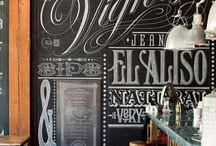Chalkboard Ideas / by Nina Horn