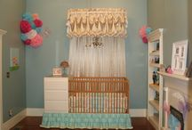 Baby Nursery We Made For Our Grandbaby / I used a lot of ideas I got from Pinterest and wanted to share our baby nursery in our home. It was made special for our precious grand daughter when she comes to visit. I also would like to thank my best friend who also help me on this project, Thank you Julie!!! / by Tammy Lanclos