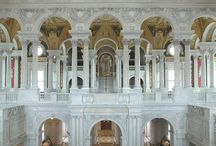Thomas Jefferson Building / Built in 1897, the crown jewel of the Library's Capitol Hill buildings has been acclaimed as one of the most beautiful buildings in America. / by Library of Congress