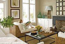 living room ideas / by Amy Huntley (TheIdeaRoom.net)