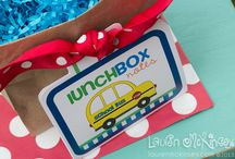 lunchbox notes for boys, girls AND teens! / by Lauren McKinsey