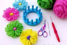 loom knitting / by Mechele Churchill Jacobs