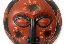 African Wood Masks / by El Sun
