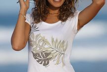 Women's Rainforest Collection / Easily go from the town to the beach in our rainforest collection for women. These tees, shorts, skirts and accessories feature a trendy rainforest print in a neutral color palette. Keep the island spirit alive year-round in this attractive collection! / by Crazy Shirts