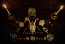 Altars / Sacred spaces to honor the old ways, clear your mind, and meditate. / by Autumn Gracy
