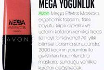 Basında Mega Effects / Mega Effects maskaranın basın yansımaları! / by Avon Türkiye